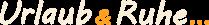Logo Urlaub-Ruhe.de